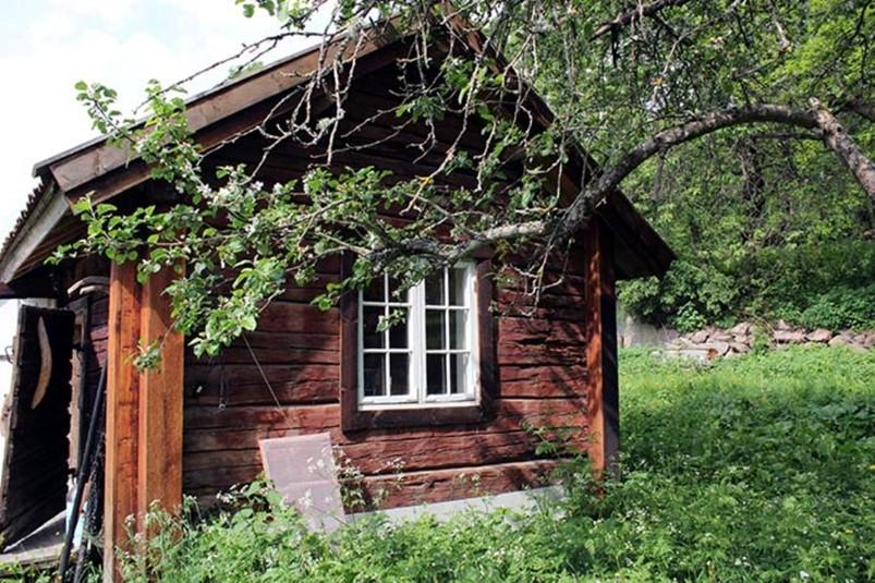 ferienhaus 1817 charmantes ferienhaus in idylischer waldlichtung sm land. Black Bedroom Furniture Sets. Home Design Ideas