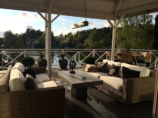 ferienhaus 1278 exklusive sch renvilla auf der luxusinsel lg stockholm. Black Bedroom Furniture Sets. Home Design Ideas
