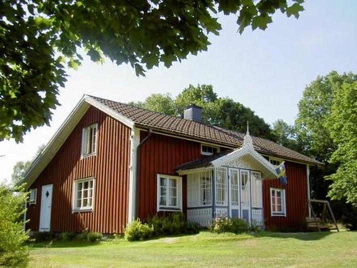ferienhaus 1066 herrliches ferienhaus mit wundersch ner lage sm land. Black Bedroom Furniture Sets. Home Design Ideas