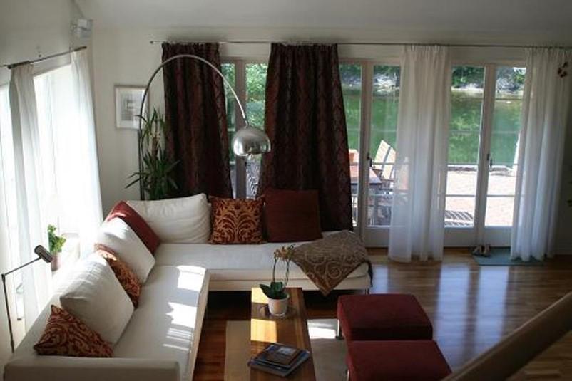 Ferienhaus 1221 luxus villa mit einer traumlage for Sofa schweden